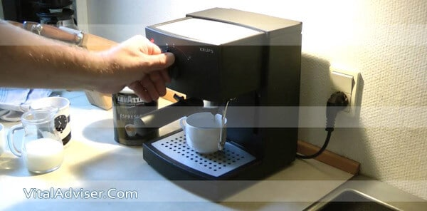 Use Krups Espresso Machine
